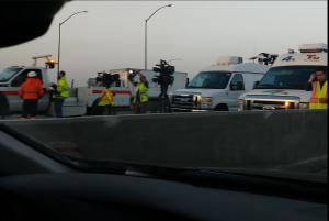 Selma, CA: Fatal Fiery Crash Highway 99 near Mountain View Avenue On